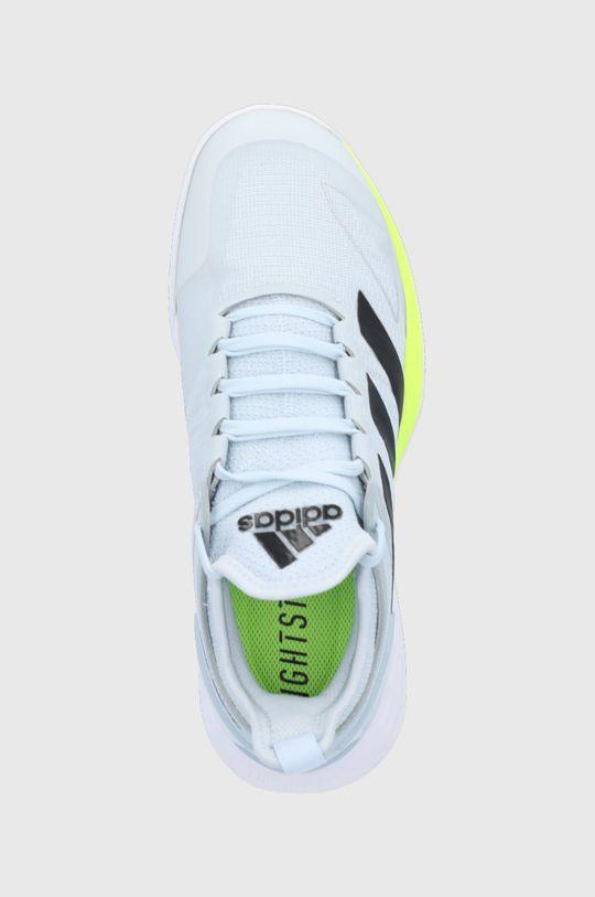 jasny szary adidas Performance - Buty adizero Ubersonic 4