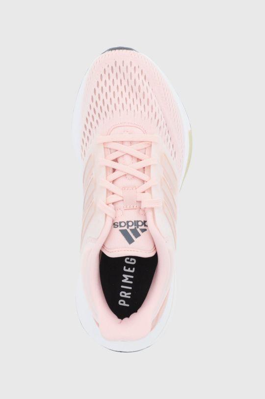 różowy adidas - Buty EQ21 RUN