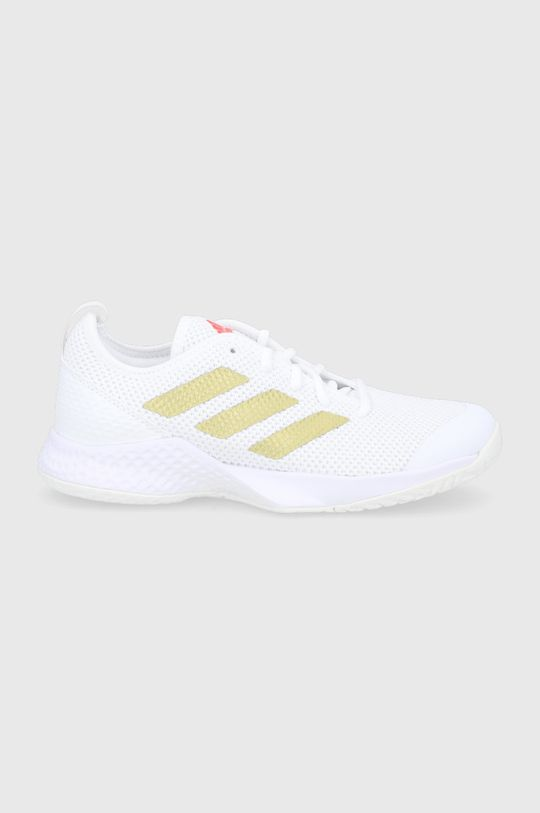 bílá adidas Performance - Boty Court Control Dámský