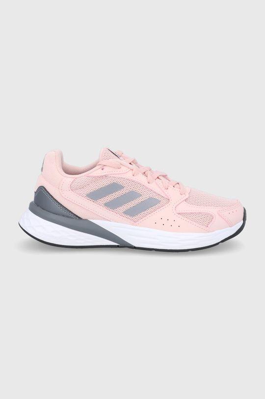 růžová adidas - Boty RESPONSE RUN Dámský