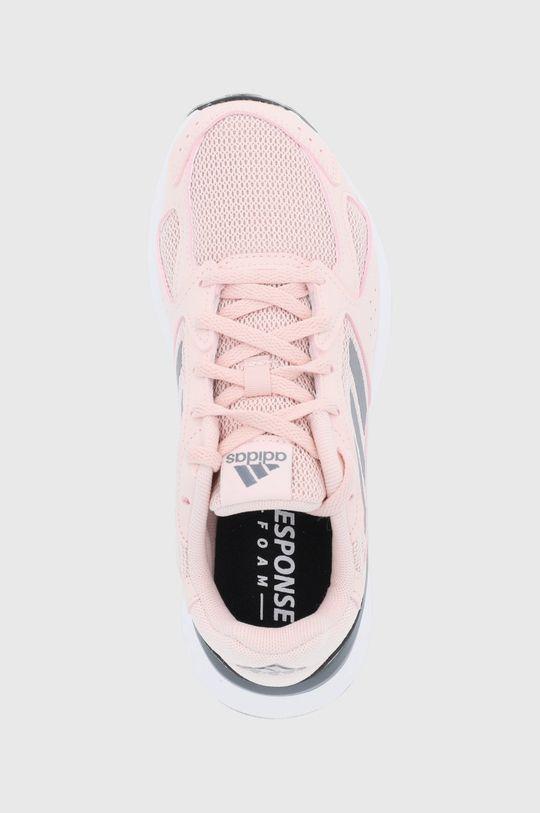 růžová adidas - Boty RESPONSE RUN