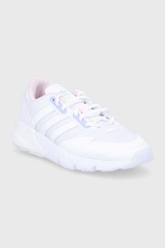 adidas Originals - Buty ZX 1 K Boost biały