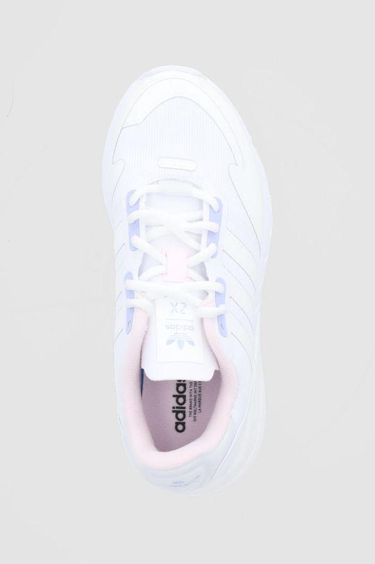 biały adidas Originals - Buty ZX 1 K Boost