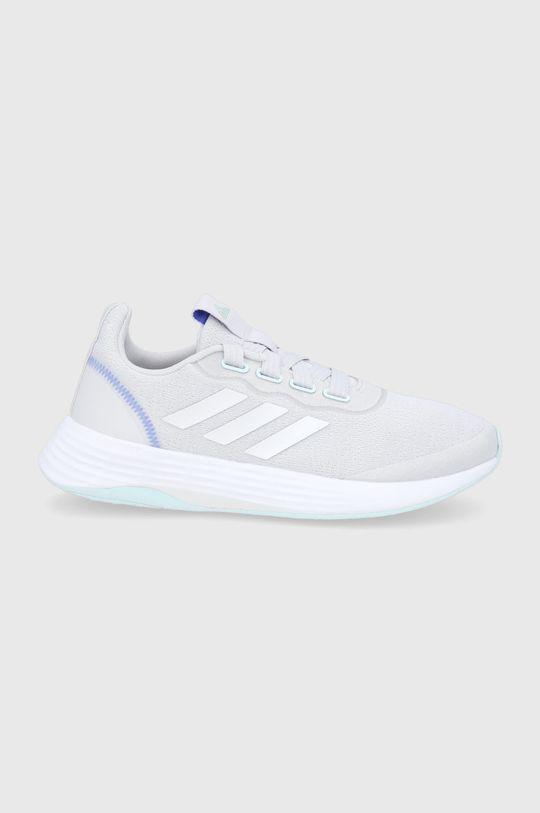 světle šedá adidas - Boty QT RACER SPORT Dámský