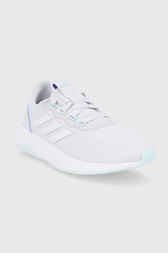 adidas - Boty QT RACER SPORT světle šedá