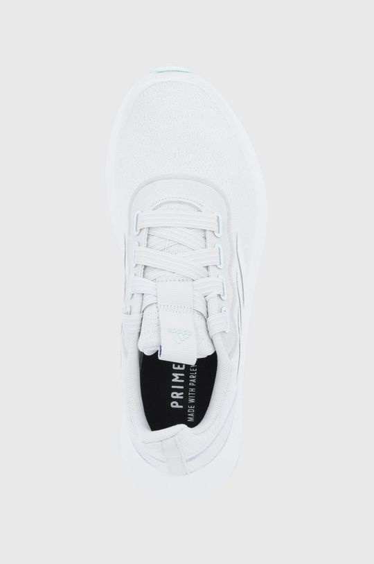 světle šedá adidas - Boty QT RACER SPORT