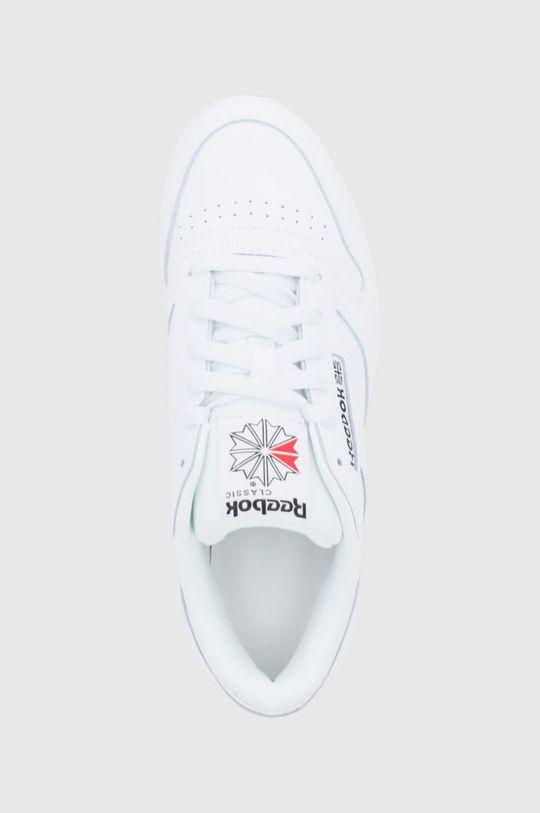 biały Reebok Classic - Buty skórzane Cl Lthr Ripple