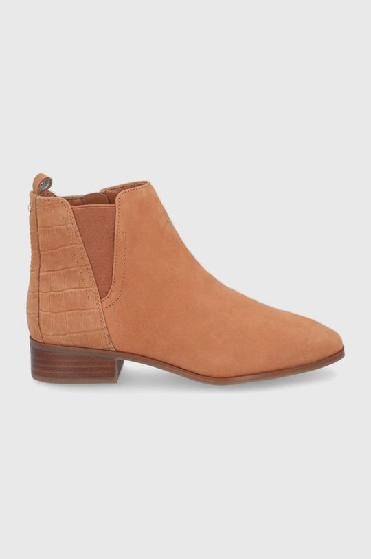 hnedá Aldo - Semišové topánky Chelsea Torwenflex Dámsky