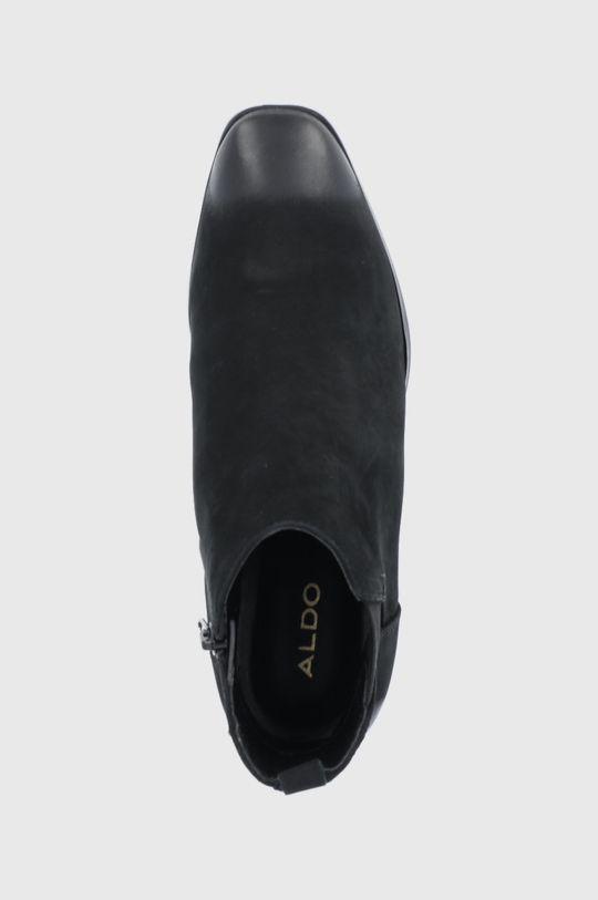 negru Aldo - Botine din piele intoarsa Torwenflex