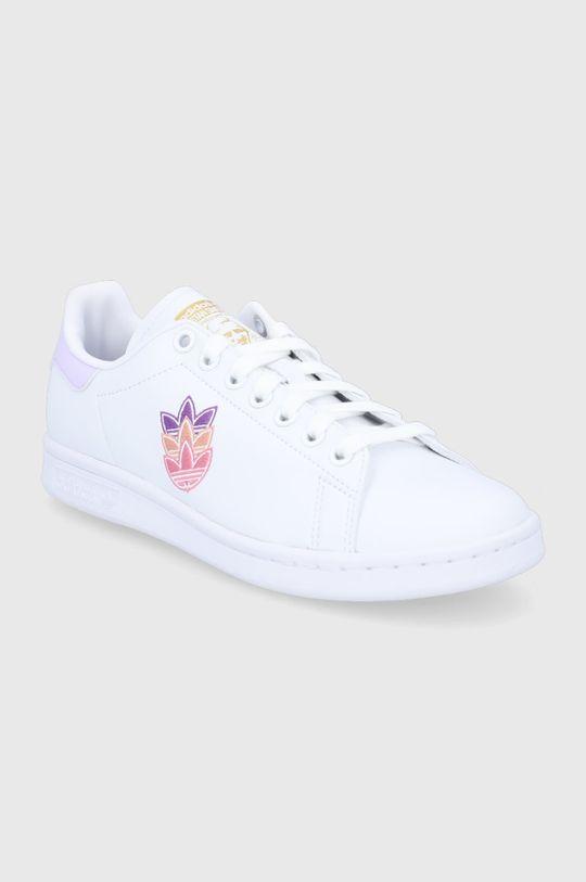 adidas Originals - Υποδήματα Stan Smith λευκό