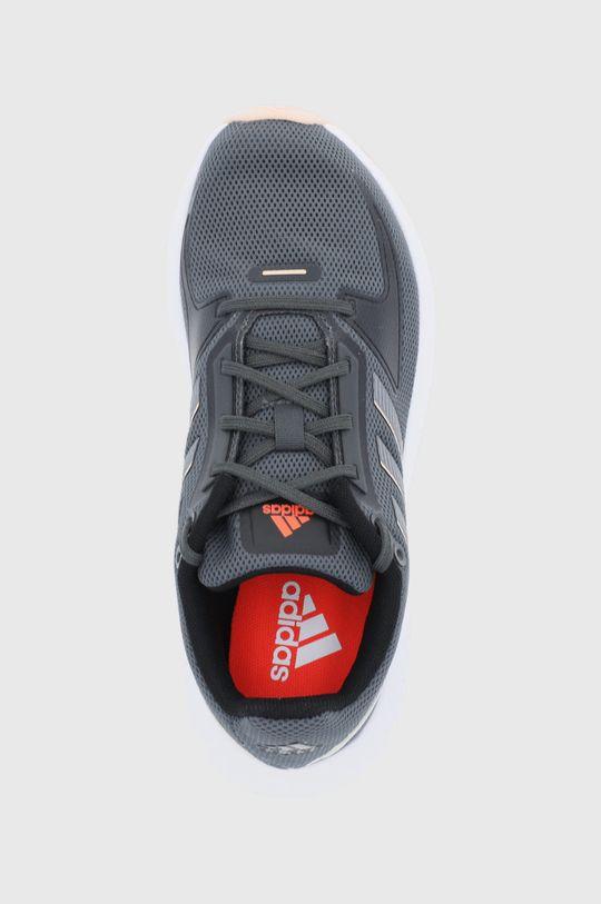 šedá adidas - Boty RUNFALCON 2.0