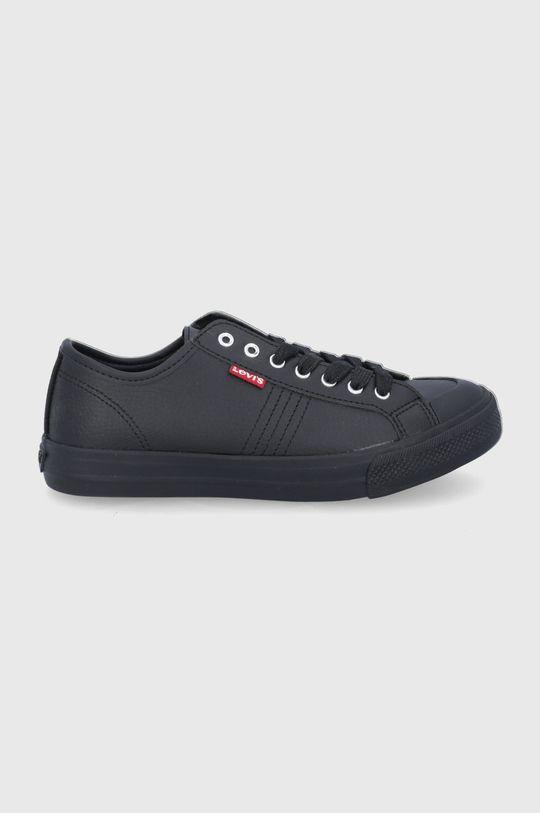 μαύρο Levi's - Πάνινα παπούτσια Γυναικεία