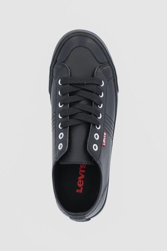 μαύρο Levi's - Πάνινα παπούτσια