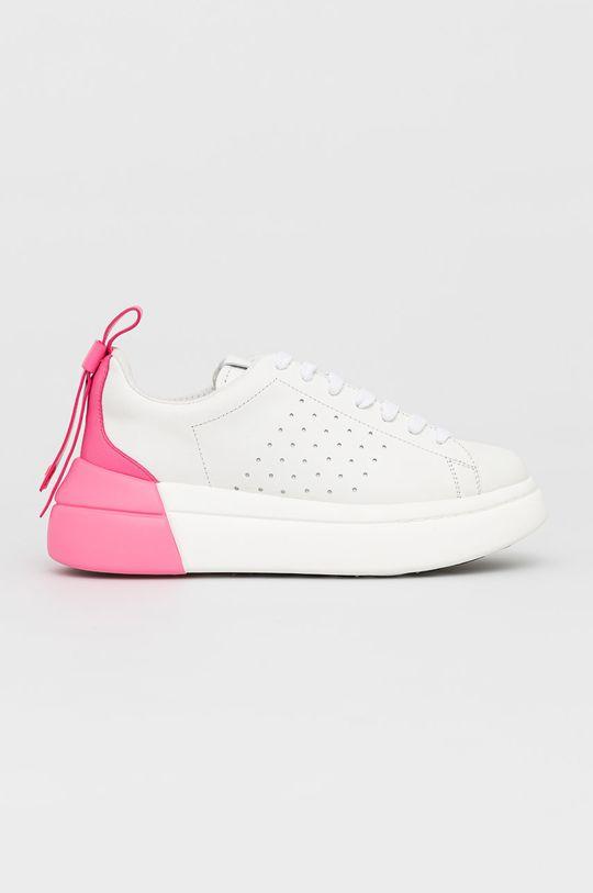 biały Red Valentino - Buty skórzane Damski