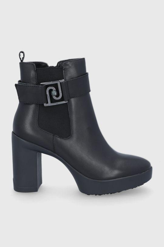 μαύρο Liu Jo - Δερμάτινες μπότες Γυναικεία