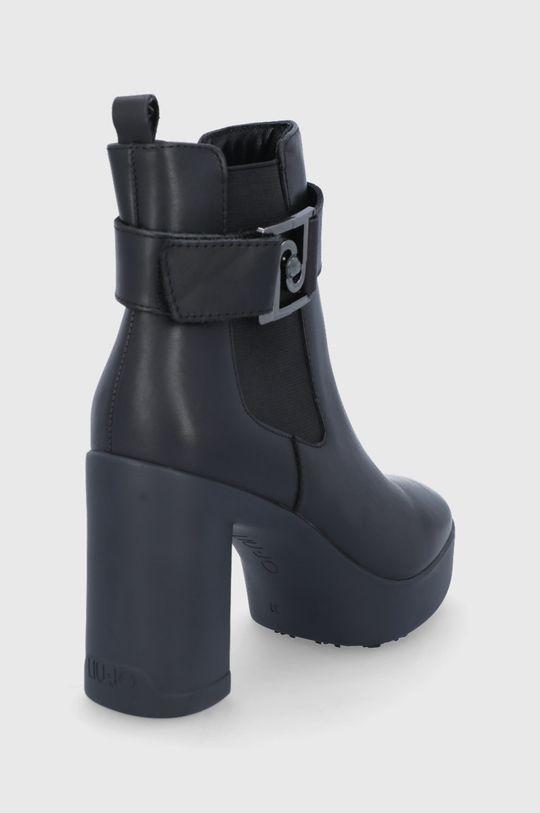 Liu Jo - Δερμάτινες μπότες  Πάνω μέρος: Φυσικό δέρμα Εσωτερικό: Υφαντικό υλικό, Φυσικό δέρμα Σόλα: Συνθετικό ύφασμα