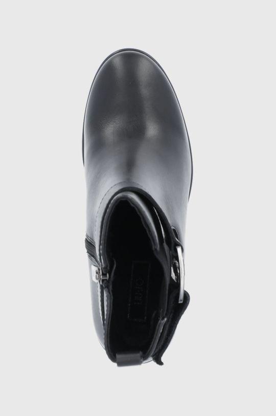 μαύρο Liu Jo - Δερμάτινες μπότες