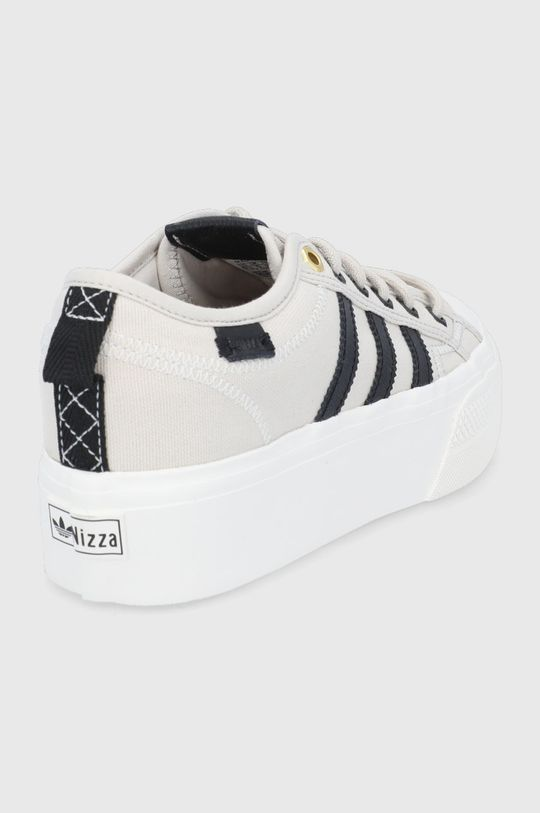 adidas Originals - Buty Nizza Platform Cholewka: Materiał tekstylny, Skóra naturalna, Wnętrze: Materiał tekstylny, Podeszwa: Materiał syntetyczny