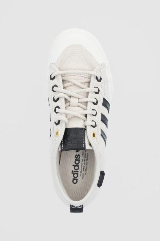 beżowy adidas Originals - Buty Nizza Platform