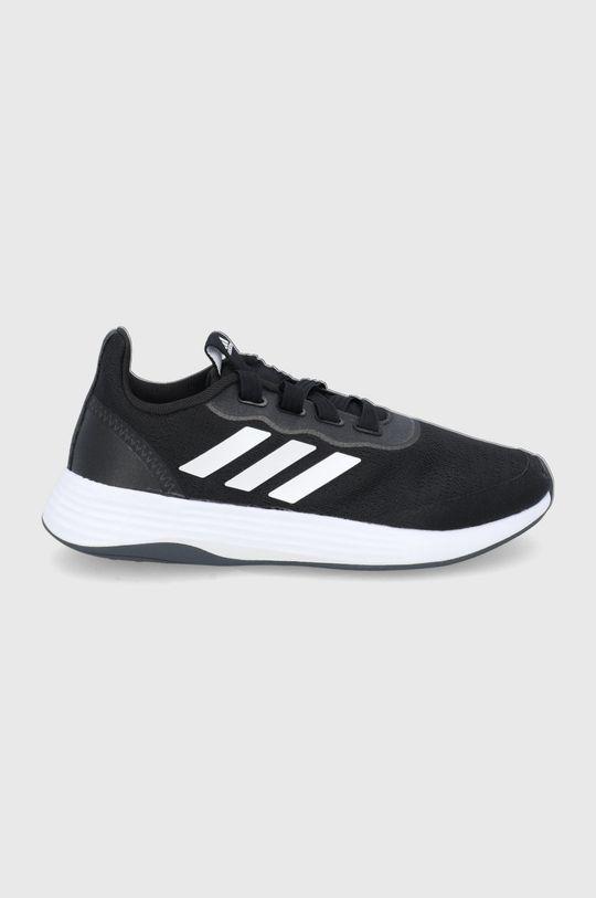 czarny Adidas - Buty QT Racer Sport Damski