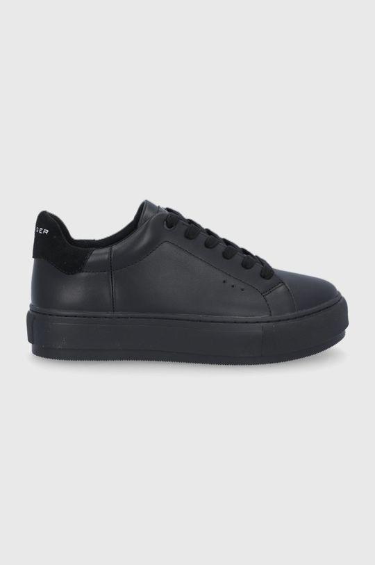 černá Kurt Geiger London - Kožené boty Laney Dámský
