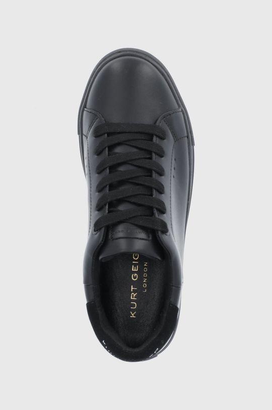 černá Kurt Geiger London - Kožené boty Laney