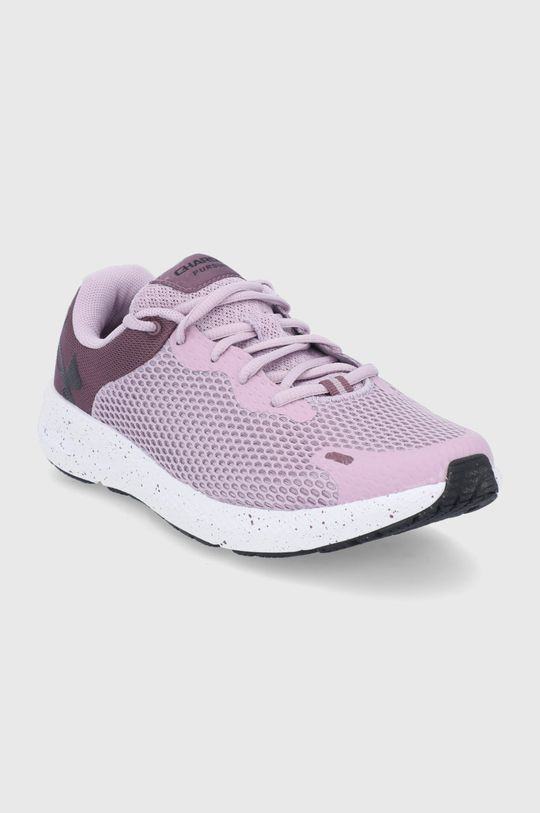 Under Armour - Buty UA W Charged Pursuit 2BL SPKL fioletowy