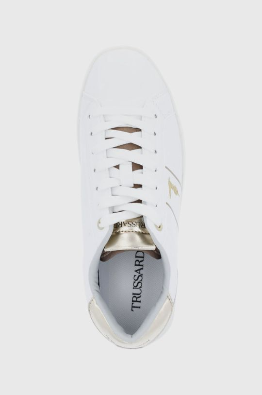 alb Trussardi - Pantofi