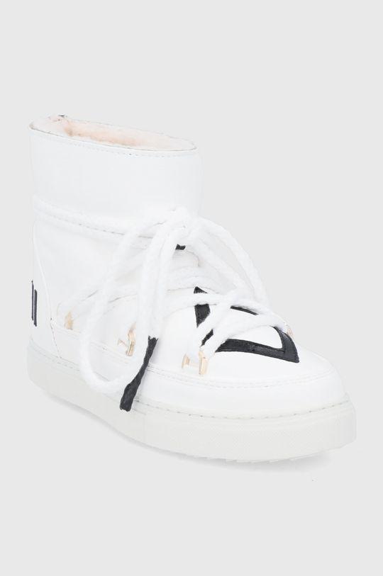 Inuikii - Śniegowce skórzane biały