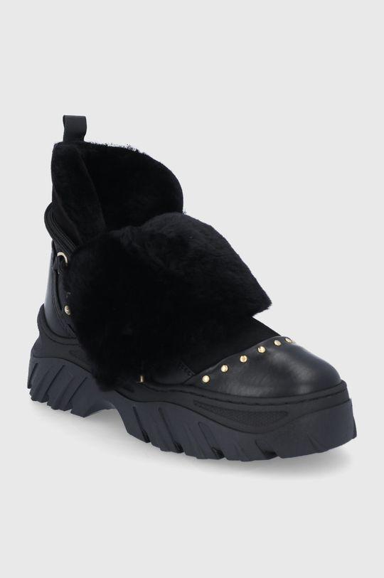 Inuikii - Δερμάτινες μπότες χιονιού μαύρο