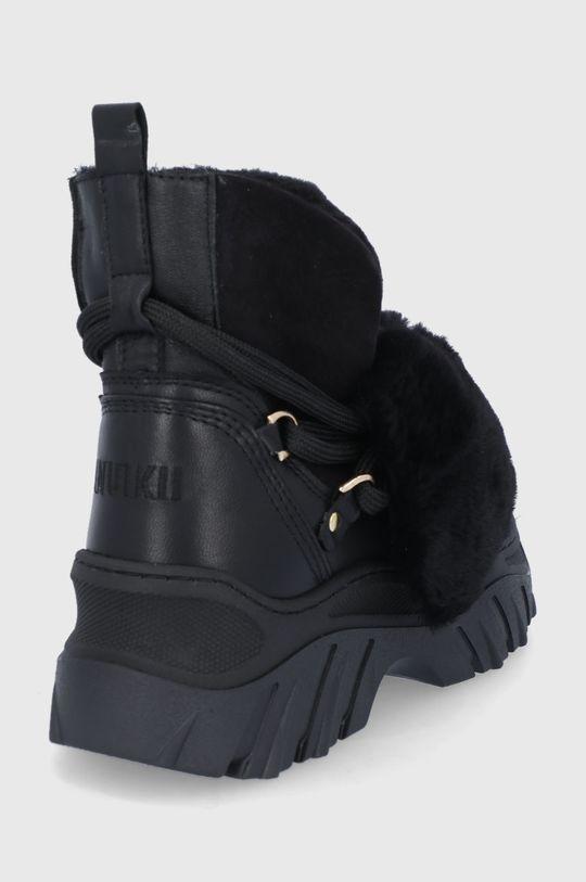 Inuikii - Δερμάτινες μπότες χιονιού  Πάνω μέρος: Φυσικό δέρμα Εσωτερικό: Μαλλί Σόλα: Συνθετικό ύφασμα