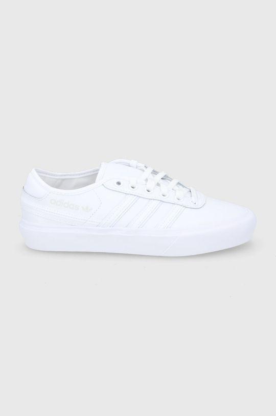 biały adidas Originals - Buty Delpala Cl Damski