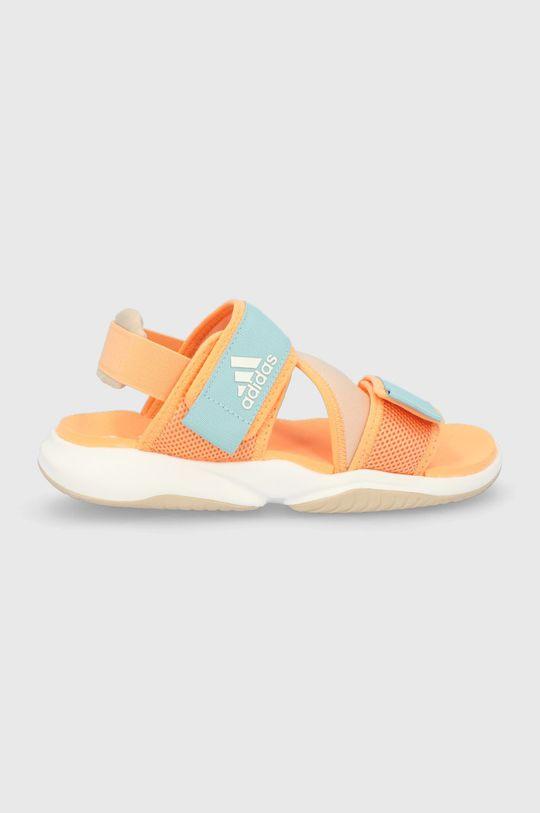 pomarańczowy adidas Performance - Sandały Terrex Sumra W Damski