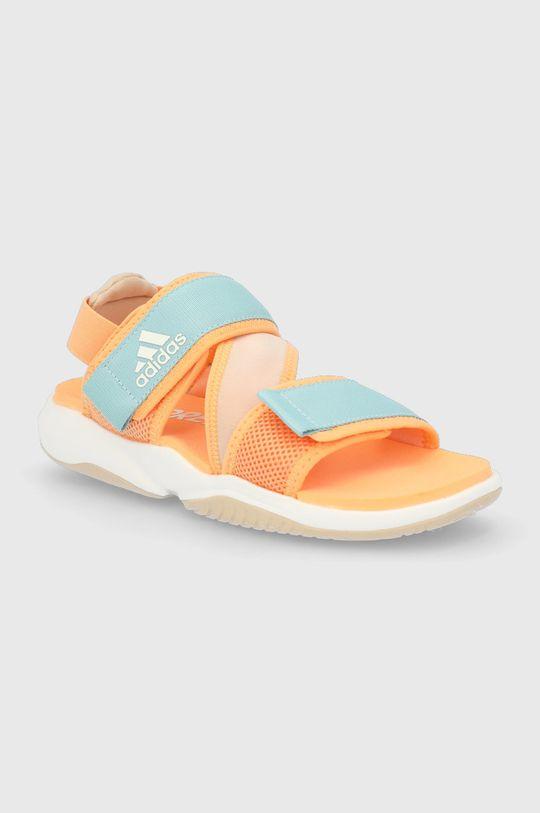 adidas Performance - Sandały Terrex Sumra W pomarańczowy