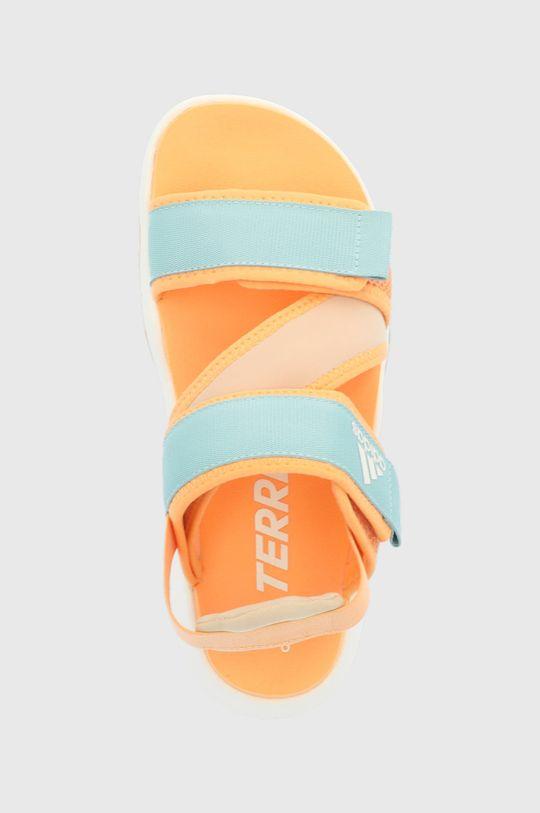 pomarańczowy adidas Performance - Sandały Terrex Sumra W