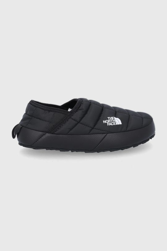 czarny The North Face - Kapcie Thermoball Traction Mule Damski