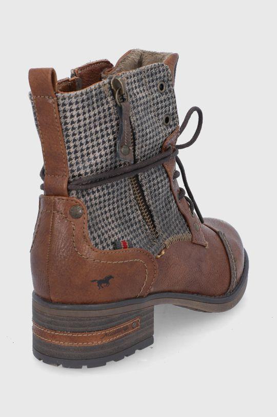 Mustang - Workery Cholewka: Materiał syntetyczny, Materiał tekstylny, Wnętrze: Materiał tekstylny, Podeszwa: Materiał syntetyczny