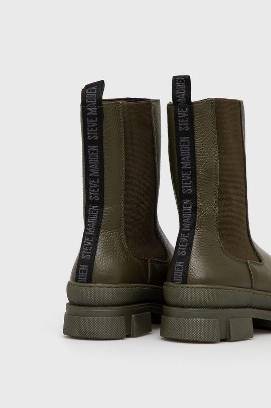 Steve Madden - Kožené kotníkové boty Filina  Svršek: Přírodní kůže Vnitřek: Textilní materiál Podrážka: Umělá hmota