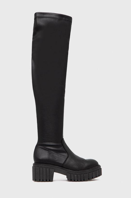 μαύρο Steve Madden - Μπότες Roxana Γυναικεία
