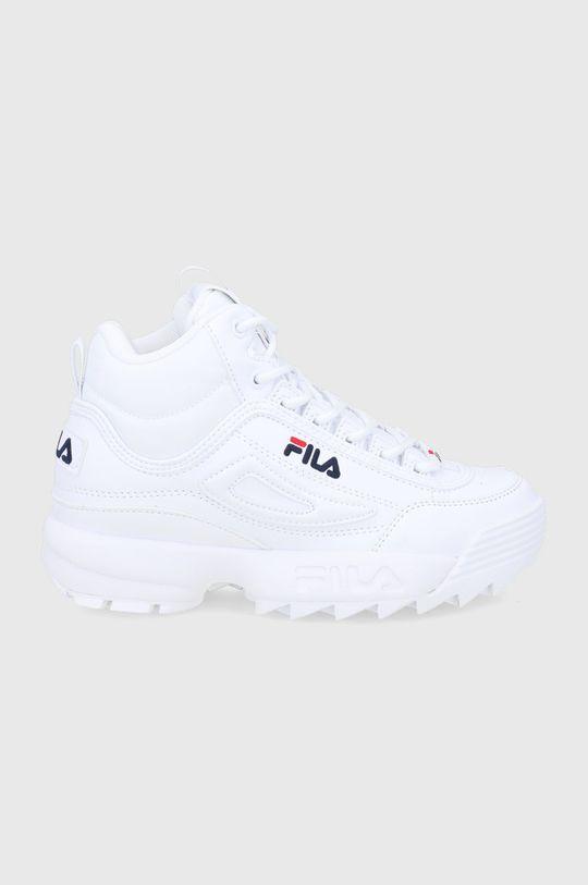 biały Fila - Buty Disruptor Damski