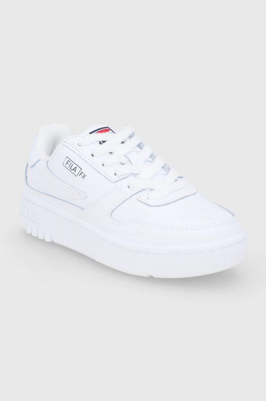 Fila - Buty skórzane FXVentuno L Low biały
