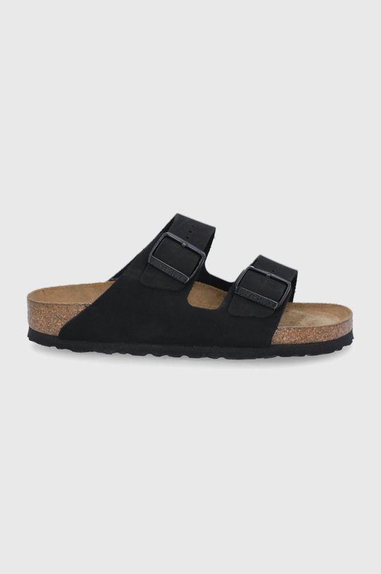 černá Birkenstock - Kožené pantofle ARIZONA Dámský