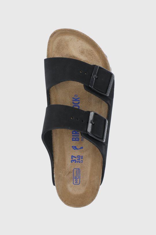 černá Birkenstock - Kožené pantofle ARIZONA
