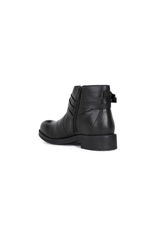 Geox - Kožené kotníkové boty  Svršek: Přírodní kůže Vnitřek: Umělá hmota, Textilní materiál Podrážka: Umělá hmota