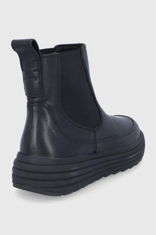 Geox - Kožené topánky Chelsea  Zvršok: Prírodná koža Vnútro: Textil, Prírodná koža Podrážka: Syntetická látka