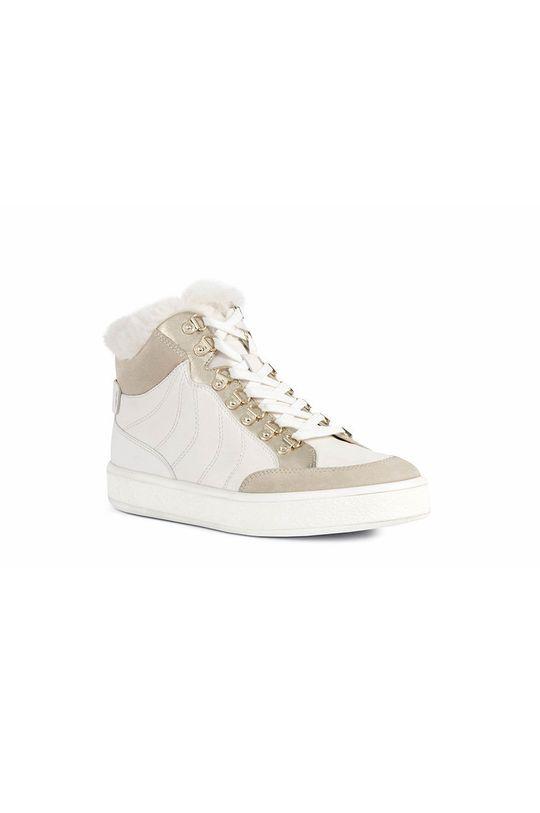 Geox - Pantofi alb
