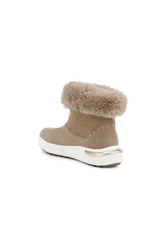 Geox - Śniegowce Cholewka: Skóra naturalna, Wnętrze: Materiał tekstylny, Podeszwa: Materiał syntetyczny