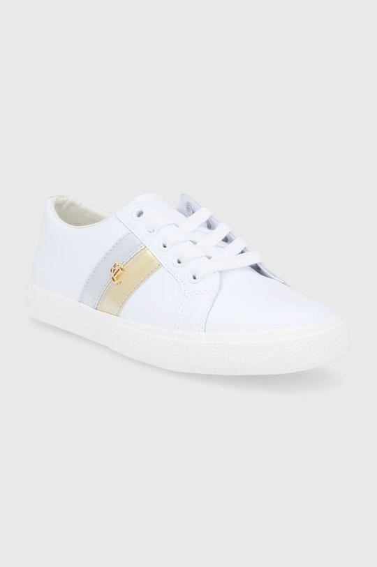 Lauren Ralph Lauren - Buty skórzane biały