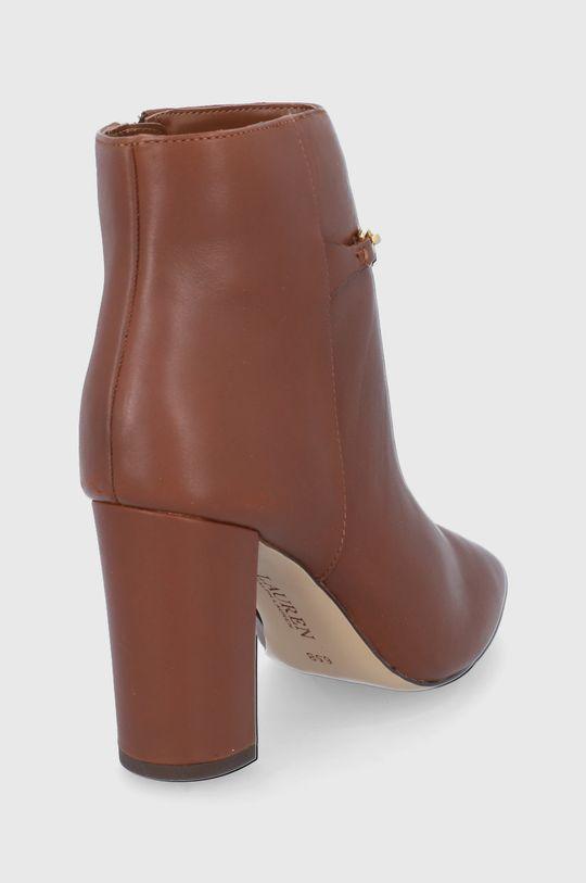 Lauren Ralph Lauren - Kožené kotníkové boty  Svršek: Přírodní kůže Vnitřek: Textilní materiál Podrážka: Umělá hmota
