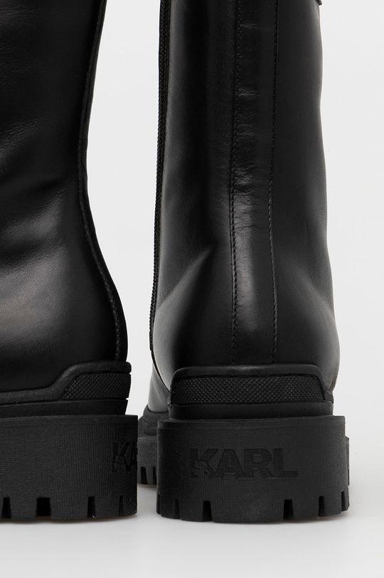 Karl Lagerfeld - Bocanci de piele  Gamba: Piele Interiorul: Piele Talpa: Material sintetic